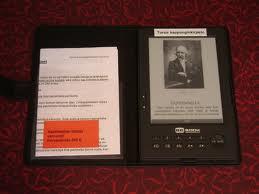 Az e-könyv olvasó népszerű készülék
